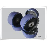Buy cheap Tear Resistant Customized Polyurethane Wheels Low Compression Set Cut from wholesalers