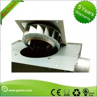 Best 125mm Thin Durable Silent Inline Fan / Square Inline Centrifugal Duct Fan wholesale