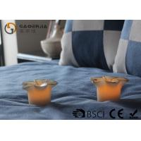 Best Flower Shape Safety Real Wax LED Candles For Home Decoration RW-127 wholesale