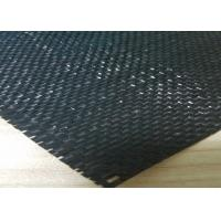 Best Polypropylene Woven Geotextile Stabilization Fabric Black Color UV Resistance wholesale