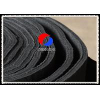 High Purity Flexible Carbon Fiber Felt Rayon Based 12MM For Heat Treatment