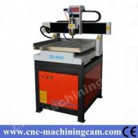 Best servo motor metal cutting cnc router ZK-6060(600*600*120mm) wholesale