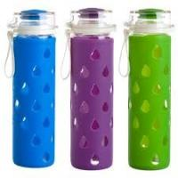Best High Temperature Water Bottle Glass Silicone Sleeve Anti - Skid Insulation wholesale