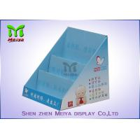 Best Trade Show Foldable Cosmetic Display Stand , Customized Cardboard Book Display wholesale