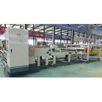 Best Single Corrugated Cardboard Machine Electric Blade Adjustment 1800mm Working Width wholesale