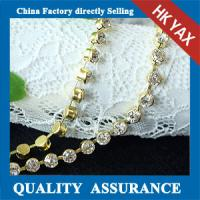 Best Clear Crystal Rhinestone Chain;Wholesale Cup Chain;DMC Quality rhinestone chain wholesale