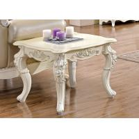 Best Hand carved end table Industrial wooden end table wholesale