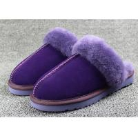 Best Sheep Wool Slippers 100% Australia Real Sheepskin Slipper Winter Rubber Slipper wholesale