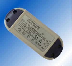 Best 12V DC 1A 12W Constant Voltage Led Driver IP65 EN61000-3-2 ROHS CE wholesale