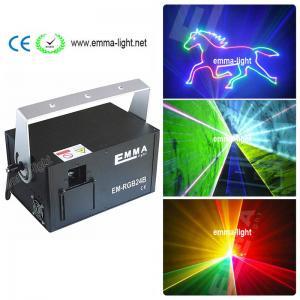 China 1.5w RGB laser 3D animation projector ILDA DMX dance bar Xmas Party Disco DJ effect Light stage Lights Show system on sale