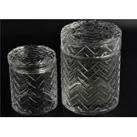 Best Modern Tall Glass Candle Holder Glassware Large Capacity 69ml wholesale