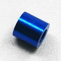 China Blue Anodized CNC Turned Components Small Precision Machined Aluminum Parts on sale