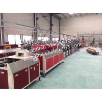 Best High output plastic PVC marble lines/profiles production line with transfer print machines wholesale