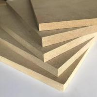 Best Thickness 1.8 - 30mm Melamine Faced MDF Board 8% - 14% Moisture Content wholesale