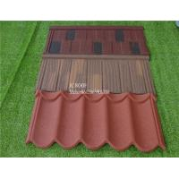 Best colorful stone coated metal roofing tile/Stone coated iron sheet 1340mm*420*0.4mm stone chips coated roof tile wholesale
