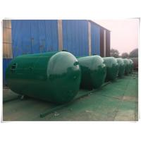 Best Horizontal Air Receiver Tanks For Compressors , Stainless Steel Pressure Vessel wholesale