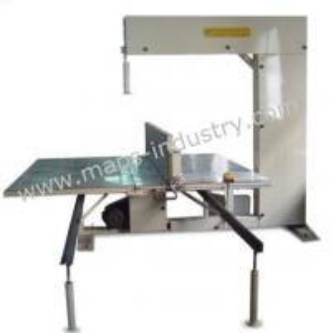 Best Vertical Industrial Foam Cutting Machine 1320 * 2290 Mm Inner Work Table wholesale