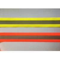 Best 100% Polyester High Visibility Silver reflective tapes for Safety Vests / clothing wholesale
