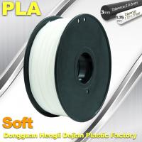 Cheap Soft PLA Filament, 3D Printer filament.1.75 / 3.0mm,DEJIAN Factory for sale