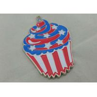 Best Zinc Alloy Engraving Carnival Medalby Antique Nickel Plating With Color Clown Logo wholesale