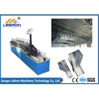 Best Lightweight Stud And Track Roll Forming Machine , Blue Color Metal Stud Machine wholesale