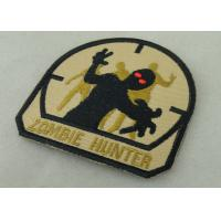 Best Economic Military Uniform Badges ,  Iron Glue Cotton Fabric Embroidered Patches wholesale