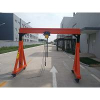 China A Frame Type Crane With Electric Chain Hoist And Electric Trolley For Work Shop on sale