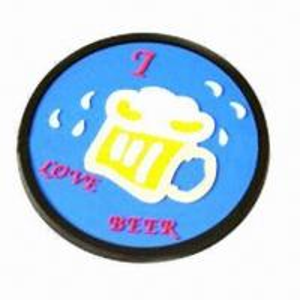Best Soft PVC Coaster with 9cm Diameter wholesale