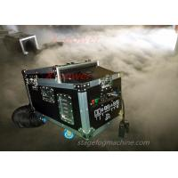 Best 1200 Watt Water Haze Machine Dry Ice Stage Fog Machine ThicK Fog Machine With Flight Case X-DI wholesale