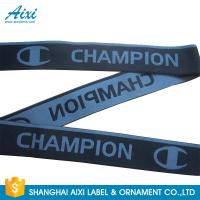Best Eco - Friendly Webbing Tape Jacquard Elastic Waistband With Custom Printed Logo wholesale
