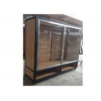 Best Clear Tempered Glass Door Wall Mounted Display Cabinets Commercial Retail Commercial Retail wholesale
