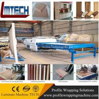 Best pvc wood veneer Vacuum membrane press machine for doors making for woodworking with two wo wholesale
