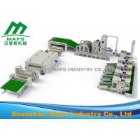 Best Nonwoven Production Line / Automatic Wadding Machine For Quilting Comforter Machine wholesale
