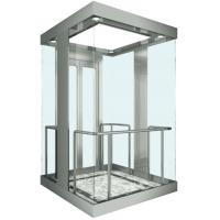 Best Square Observation Elevator , Fuji VVVF AC Drive Glass Sightseeing Elevator wholesale