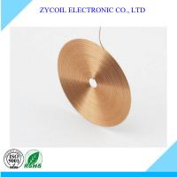 Cheap Custom Copper Wire Flat Spiral Air-core Coil For Remote Control Devices for sale