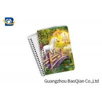 Best Unicorn Design Depth Effect A4 A5 A6 3D Lenticular Notebook For Student Stationery Eco-friendly wholesale