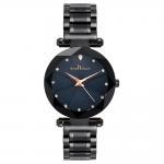 Best Wholesale custom logo Women stylish waterproof Starry Sky Watch Quartz Stainless Steel OEM Minimalist Watch wholesale