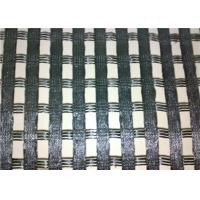 Best Polyester Geogrid Reinforcing Fabric Low Elongation For Embankment Reinforcement wholesale