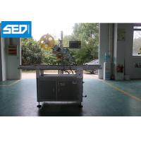 China Carton Top Surface Automatic Labeling Machine , 220V 50HZ Label Sticking Machine on sale