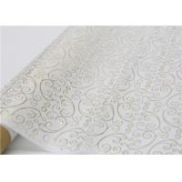 Best Moistureproof Hot Stamping Tissue Paper One Side For Flower Wrapping wholesale