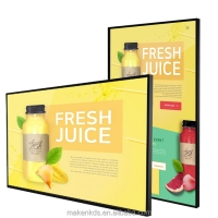 Best 43 inch 1080P wall mounted digital signage with Android system for cafe restaurant wholesale