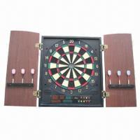 Best Electronic Dartboard with MDF Cabinet, Non-toxic and Eco-friendly, OEM Orders are Welcome wholesale