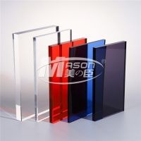 Best Lucite Raw Material Color Acrylic Sheet Cast Perspex Sheet 1220x2440mm wholesale