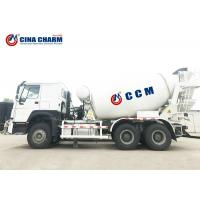 China Construction Concrete Mixer Truck 8m3 / 9m3 / 10m3 Agitating Capacity Mobile on sale