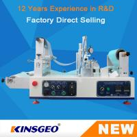 KJ-6018 Lab Continuous Hot Melt Coater , Hot Melt Coating Machine Digital Control