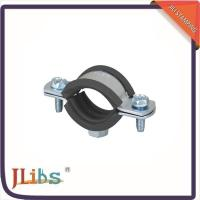 Quality EPDM Rubber Galvanized Pipe Clamps 15mm - 200mm Dmm Environment Friendly wholesale
