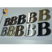 Best 3D Architectural - grade Stainless Steel Letters For Wall Shop Signs wholesale