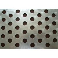 Best Customized different hole 1mm Iron plate Galvanized perforated metal mesh wholesale