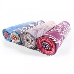 Best Hot Yoga Towel with Printing, Non-slip Portable Travel Yoga Mat Towel,Pilates Cover,Fitness Yoga Blanket/Hot Yoga Towel wholesale