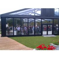 Best High Reinforced Aluminum Outdoor Wedding Tents With Sidewalls Glass Cover 20x20m wholesale